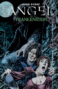 Angel vs Frankenstein cover
