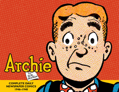 Archie: The Classic Newspaper Comics, Vol 1 cover