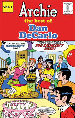 Archie: The Best of Dan DeCarlo, Volume One cover