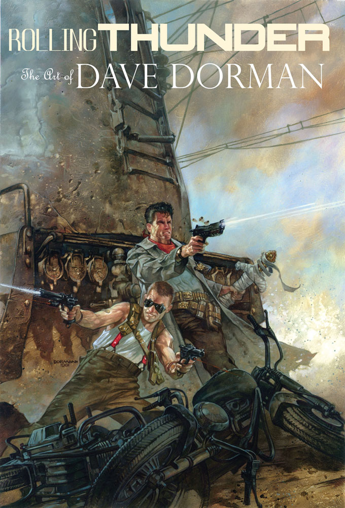 The Art of Dave Dorman: Rolling Thunder