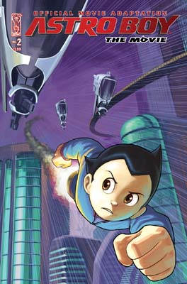 Astro Boy Movie Adaptation #2 cover