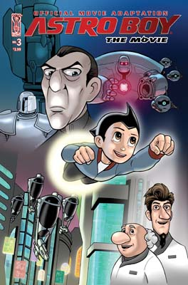 Astro Boy Movie Adaptation #3 cover