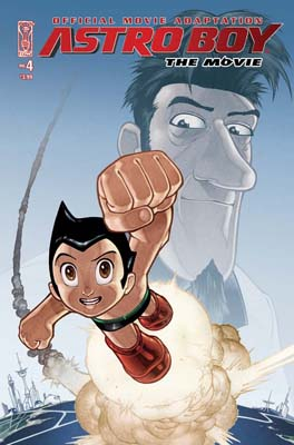 Astro Boy Movie Adaptation #4 cover