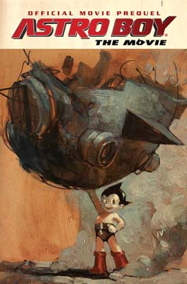Astro Boy Movie Prequel TPB cover