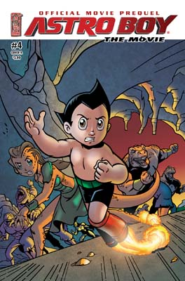 Astro Boy Movie Prequel #4 cover