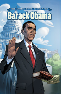 Barack Obama: The Comic Book Biography cover