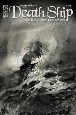 Bram Stoker's Death Ship #1 cover