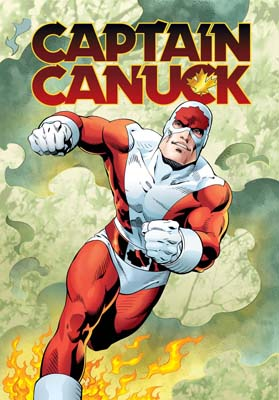 Captain Canuck vol 1 cover