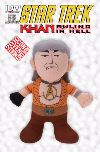 Star Trek: Khan: Ruling in Hell NYCC Cover