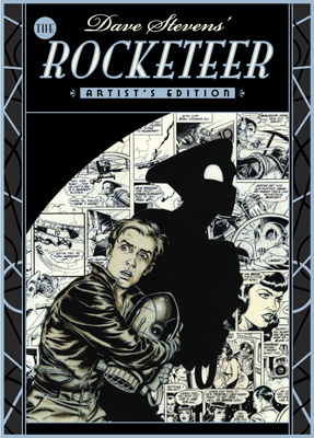 The Rocketeer Artists Edition cover