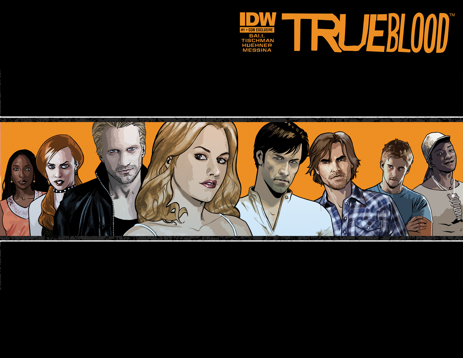 True Blood #1 Messina wrap around cover