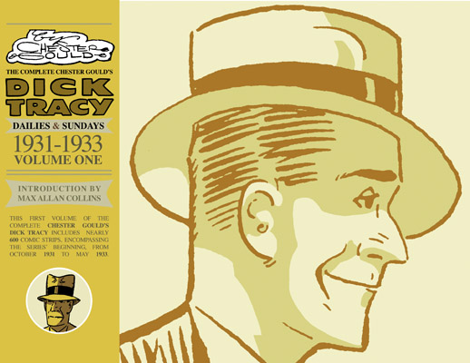 The Complete Chester Gould's Dick Tracy Vol 1 cover