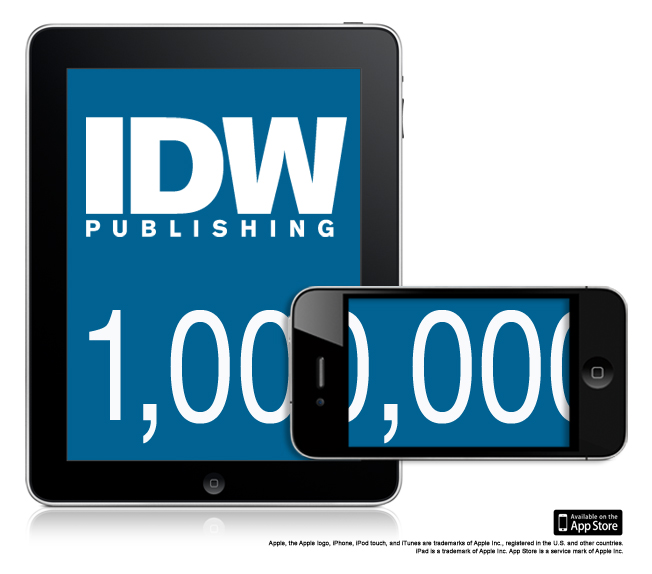 IDW Delivers Over 1M App Store Apps