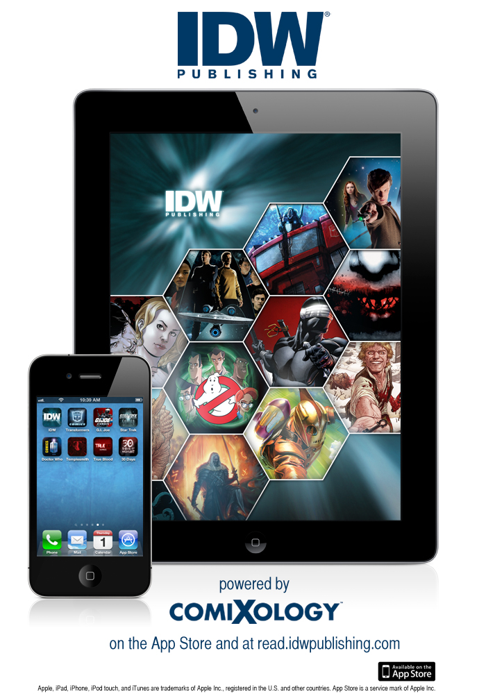 IDW Comixology