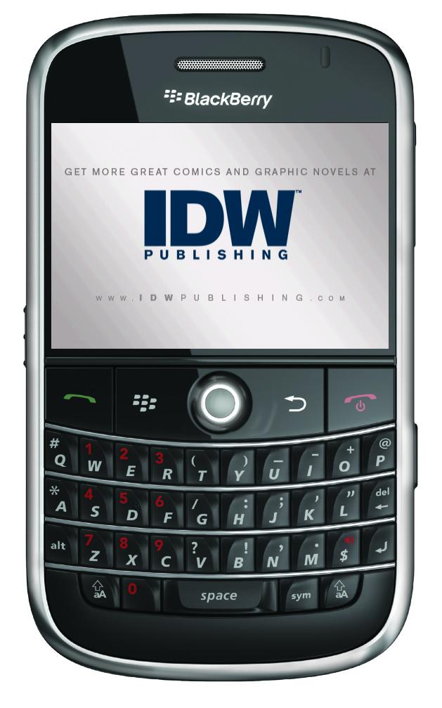 IDW on BlacBerry