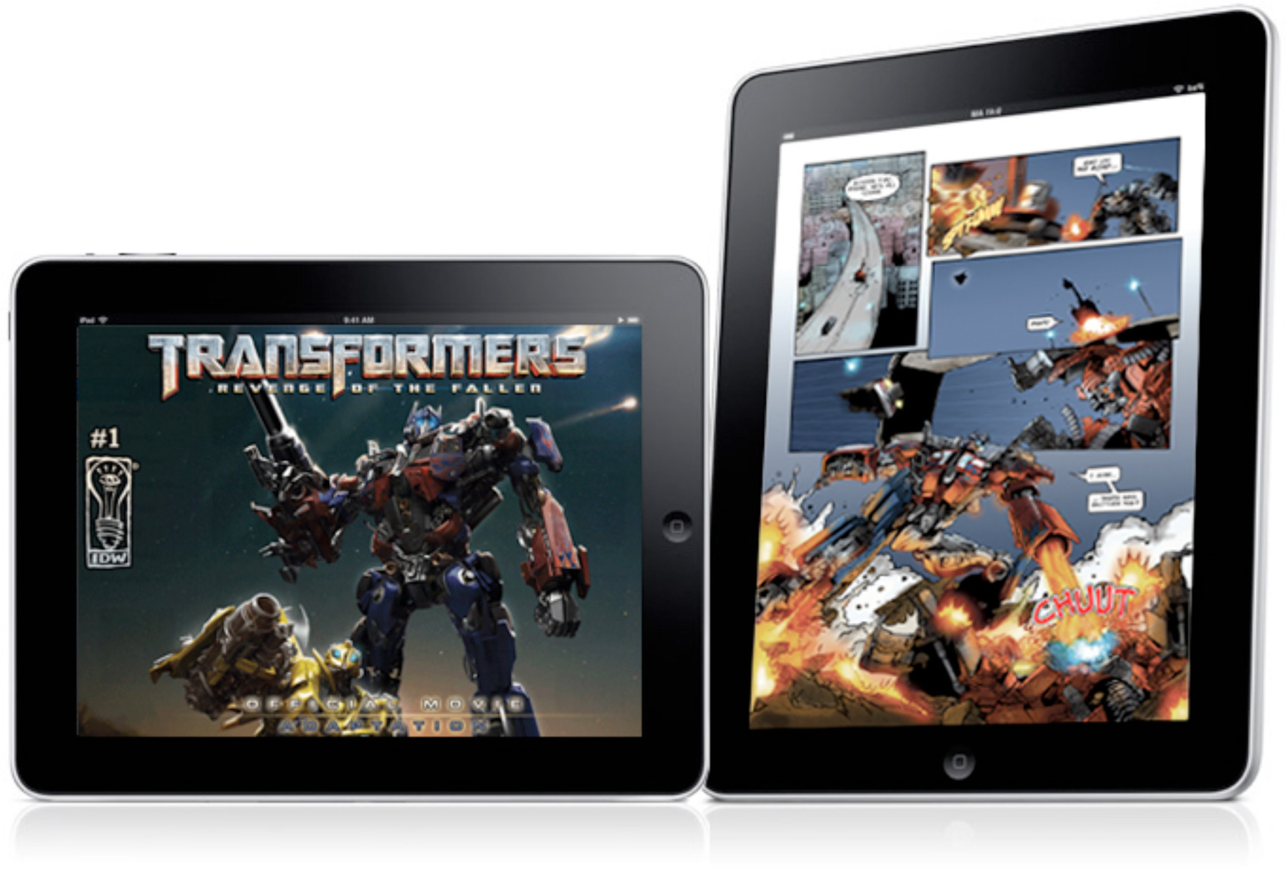 TRANSFORMERS on the iPad