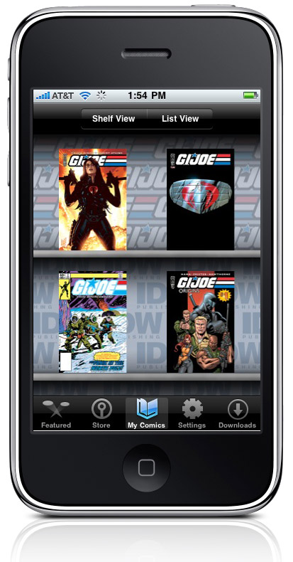 GI JOE storefront