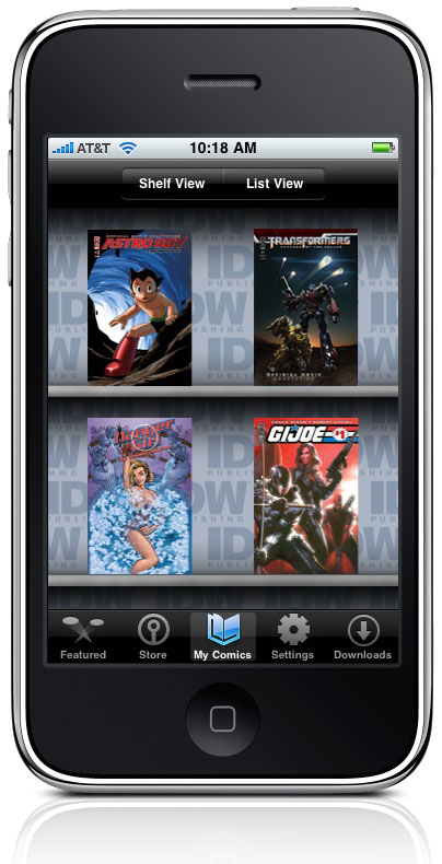 IDW Digital Storefront
