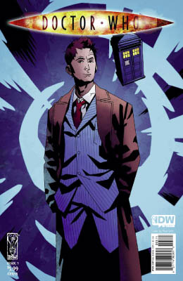 Doctor Who #3 cover