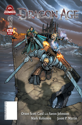 Dragon Age #1 cover