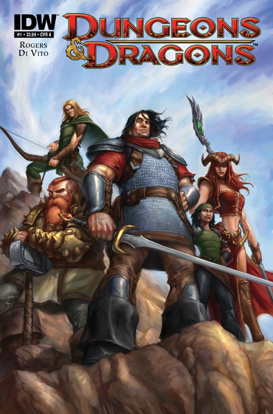 Dungeons & Dragons #1 cover