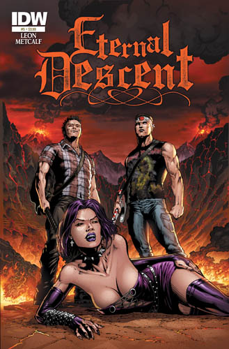 Eternal Descent #5 cover