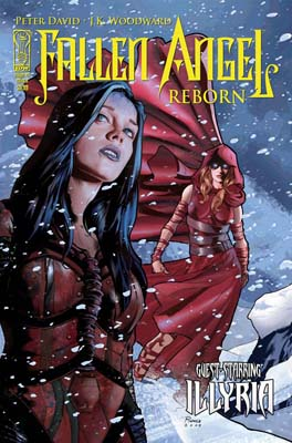 Fallen Angel Reborn Issue 3 cover