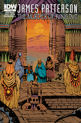 James Patterson's The Murder of King Tut #4 cover