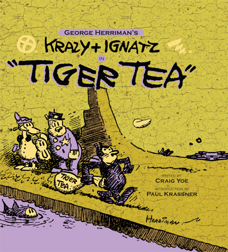 Krazy & Ignatz in Tiger Tea cover