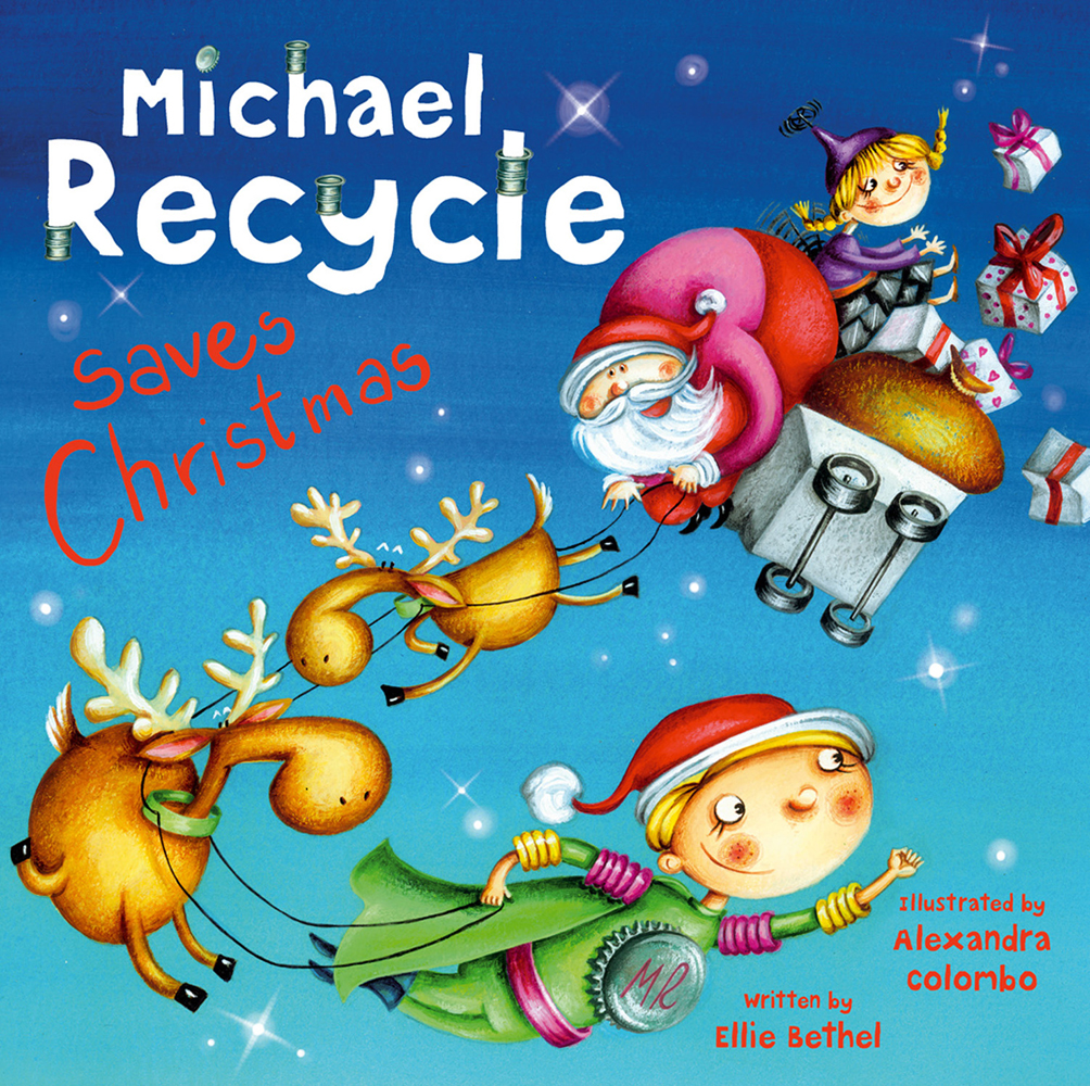 Michael Recycle Saves Christmas