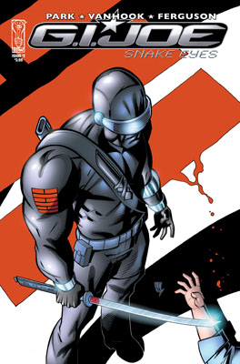 G.I JOE: Snake Eyes #2 cover