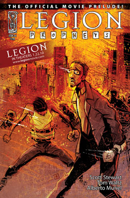 Legion: Prophets #1 cover