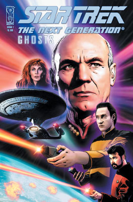 Star Trek: The Next Generation: Ghosts #1 cover