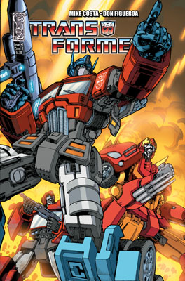 TRANSFORMERS #1 cover B