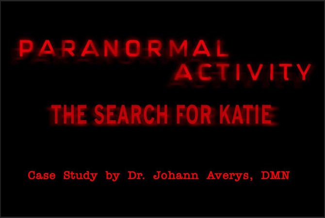 Paranormal Activity title screen