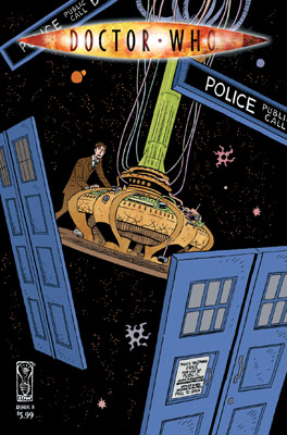 Doctor Who #8 cover