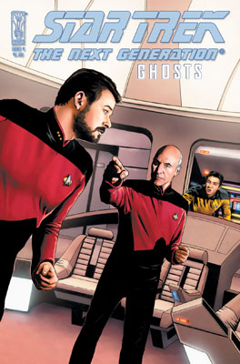 Star Trek: TNG Ghosts #4 cover