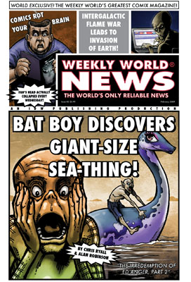 Weekly World News #2 cover