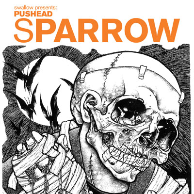 Sparrow: Pushead cover