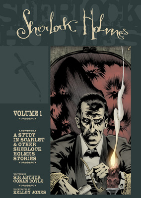 Sherlock Holmes Vol 1 cover