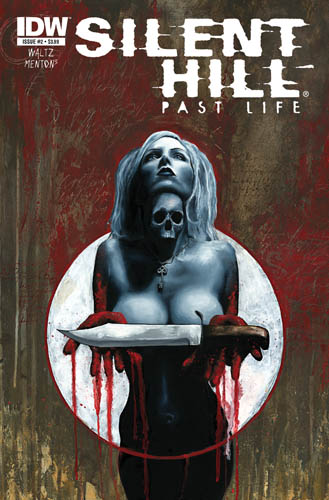 Silent Hill: Past Life #2 cover