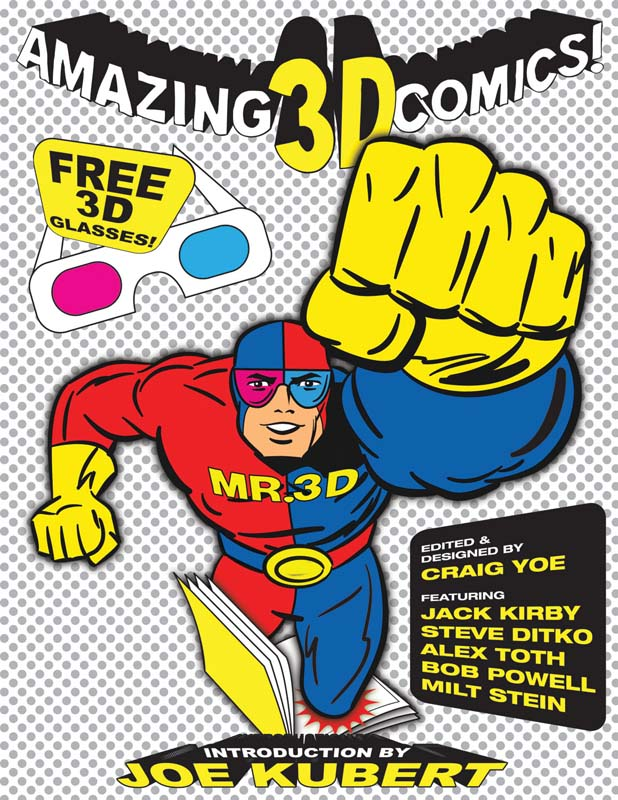 Amazing 3D comics Cover
