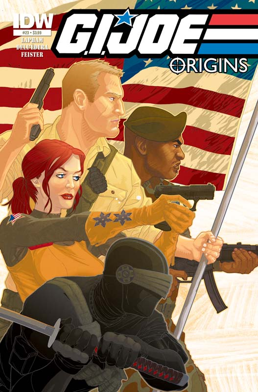 G.I. Joe: Origins #23 cover