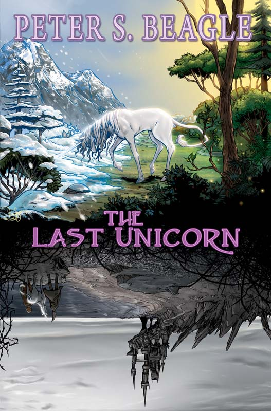 The Last Unicorn HC cover