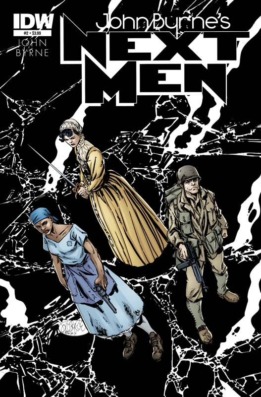 Next Men #2 cover