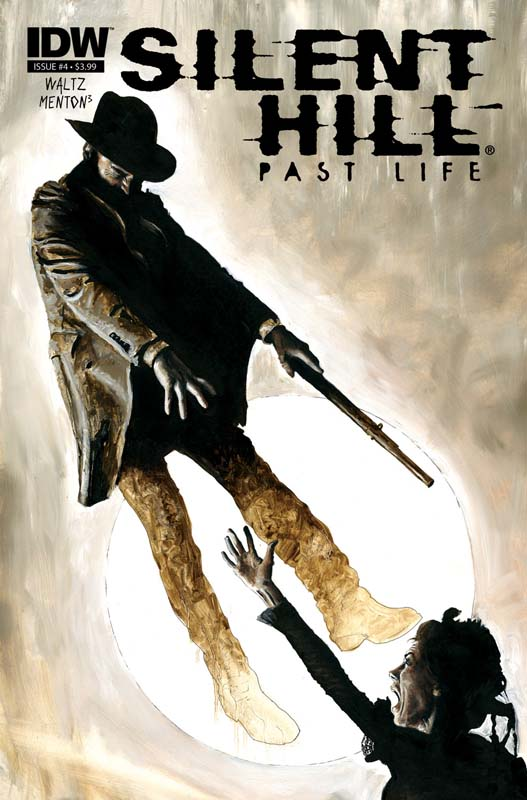 Silent Hill: Past Life #4 cover