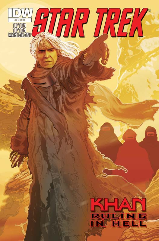 Star Trek: Khan: Ruling in Hell #4 Cover