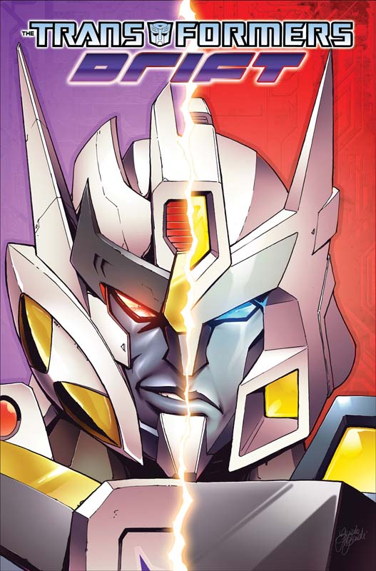 TRANSFORMERS: DRIFT TPB cover