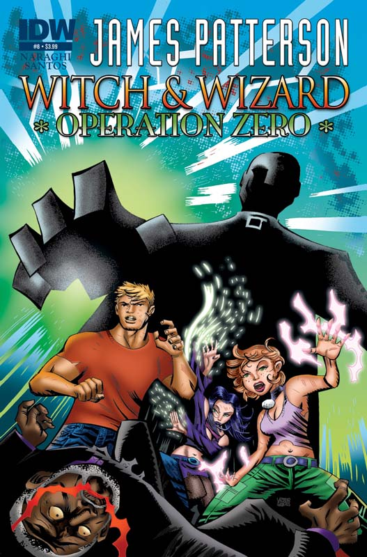 Witch & Wizard: Operation Zero #8 cover