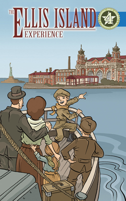 Amazing True Stories: Ellis Island cover